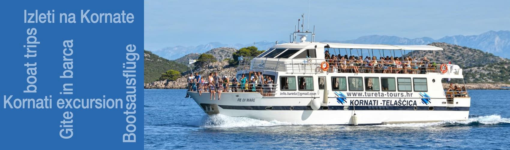 Excursions to the Kornati National Park